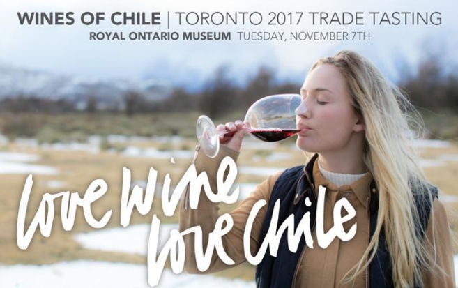 Tuesday, Nov 7th – Wines of Chile (@ Royal Ontario Museum) Promotion
